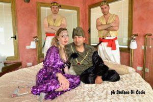 Gli Eunuchi, il Sultano Shahriyar, e Sheherazade