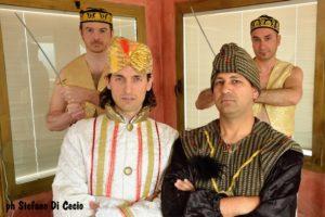 Gli Eunuchi, il Sultano Shahriyar, e il Principe Shahzaman,