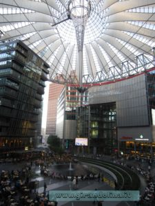 Sony -Center-Postdamerplatz