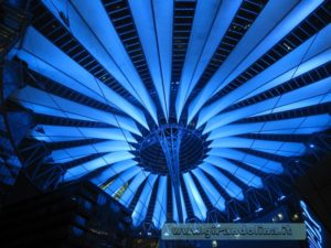 Tendone-Sony-Center- Berlino-particolare