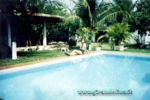 La nostra piscina della villa