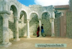 Monastero Sant'Andrea mura Isola di Rab