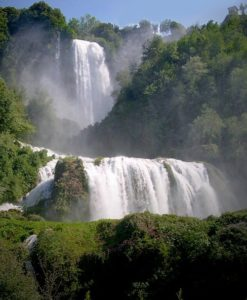 Le Cascate delle Marmore (ph Wikipedia)