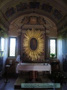 Santuario Maria delle Grazie Farnese, interno