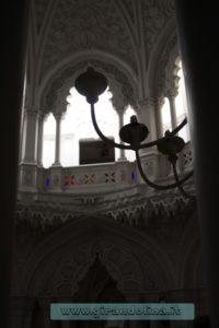 Castello Sammezzano Sala Bianca,lampadari
