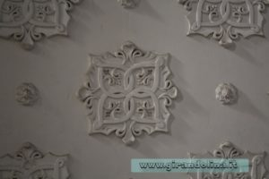 Castello Sammezzano Sala Bianca,particolare