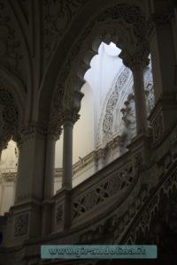 Castello Sammezzano Sala Bianca,scorci