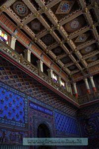Castello Sammezzano-Sala-d'ingresso, soffitto