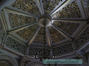 Castello Sammezzan -Sala degli Stucchi dorati
