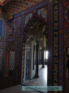 Castello Sammezzano Sala dei Gigli