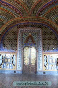 Castello Sammezzano Sala dei Pavoni
