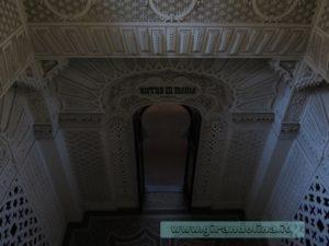 Castello Sammezzano Sala Bianca dall'alto
