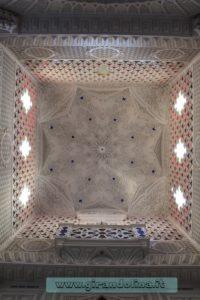 Castello Sammezzano Sala Bianca soffitto