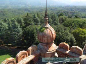 Castello Sammezzano tetto