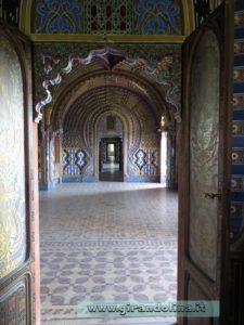 CastelloSammezzano ingresso Sala dei Pavoni
