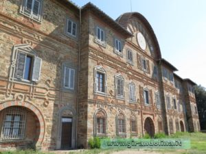 Castello Sammezzano panoramica