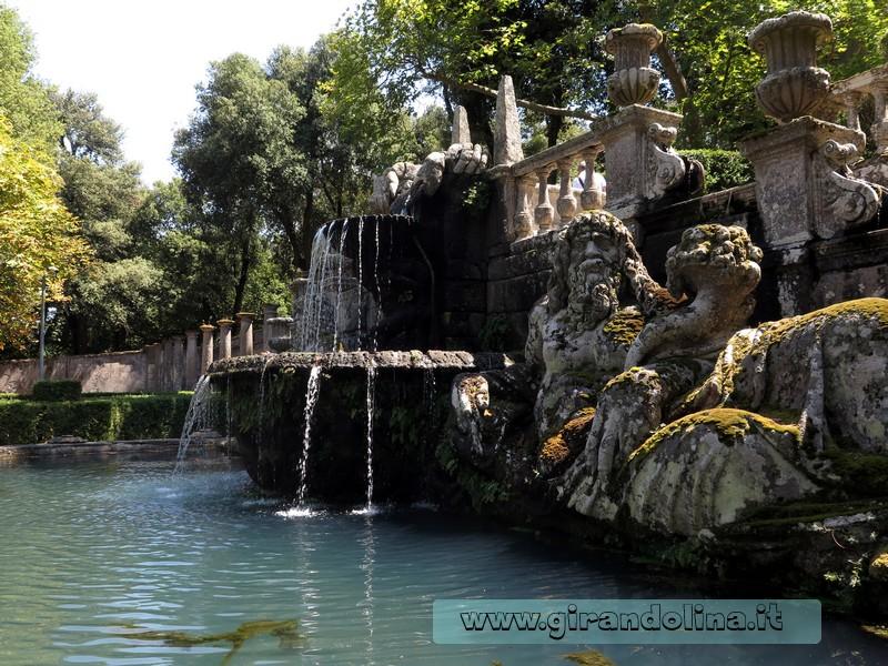 Location da film nella tuscia villa lante bagnaia e for Fontana arreda