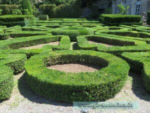 i Giardini di Villa Lante di Bagnaia, forme geometriche