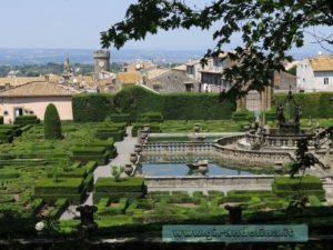 i Giardini di Villa Lante di Bagnaia, la panoramica