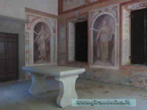 i Giardini di Villa Lante di Bagnaia, le statue