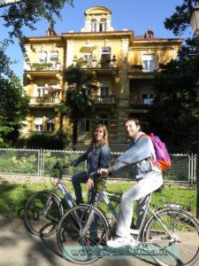 Le biciclette gentilmente offerte dall 'Hotel