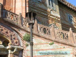 Castello Sammezzano scalinata