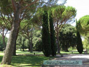 Ingresso parco della Villa Lante di Bagnaia