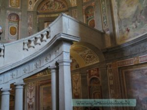 Palazzo Farnese Caprarola, la Scala Regia