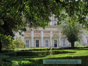 Palazzo Farnese Caprarola, il parco esterno