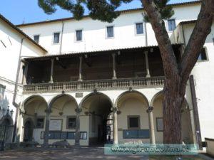 Cortile interno Palazzo dei Priori