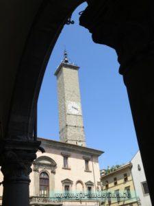 Viterbo. la Torre dell 'Orologio