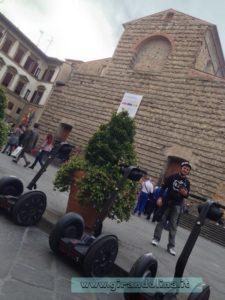 Sosta davanti alla Basilica di San Marco