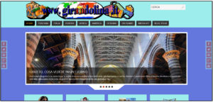 La home page del vecchio blog