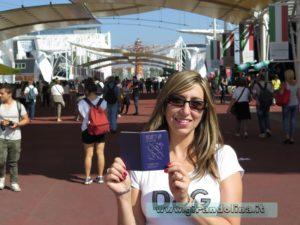 Il passaporto dell 'Expo 2015