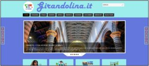 La home page del nuovo blog