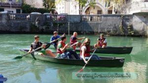 Crociera in canoa sul Livenza