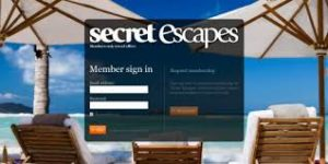 Secret Escapes Home Page