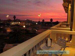 Grand Hotel Principe di Piemonte Viareggio, il nostro balcone