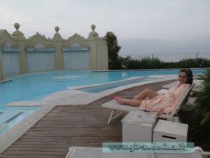 Grand Hotel Principe di Piemonte Viareggio, la piscina