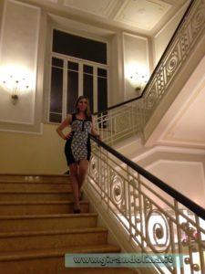Grand Hotel Principe di Piemonte Viareggio, la scalinata