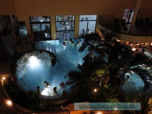 Asmana Wellness World Firenze, le piscine interne