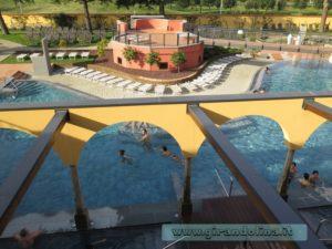 Asmana Wellness World Firenze, le terrazze panoramiche