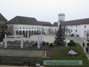 castello Lubiana cortile