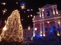 Lubiana sotto Natale ( ph wikipedia)