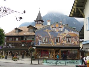 Oberammergau le case dipinte