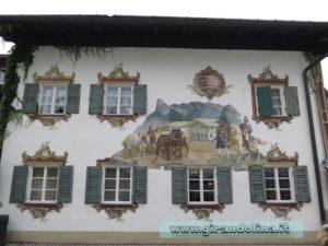 Oberammergau casa dipinta