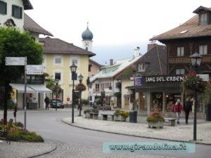 Oberammergau il centro storico