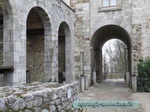 Lubiana cortile castello