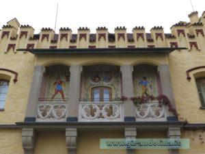 Schloss Hohenschwangau Cortile interno