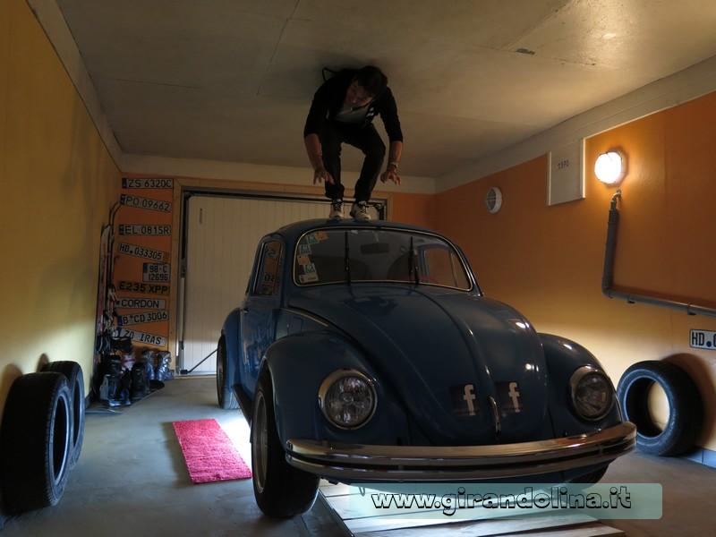 Haus Steht Kopf, il mitico Volkswagen